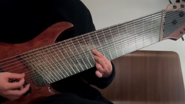 This legend absolutely tears it up on a 14-string guitar