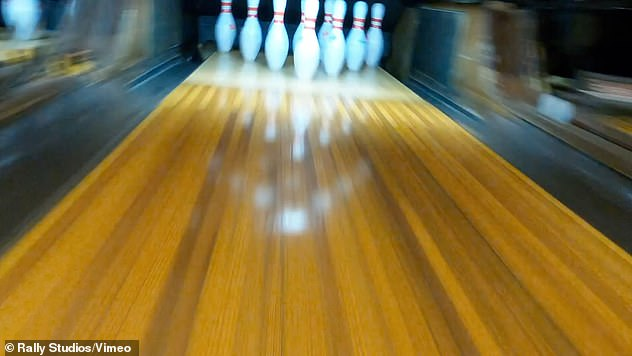 This drone-shot film flying through bowling alley is the best thing I've seen this year