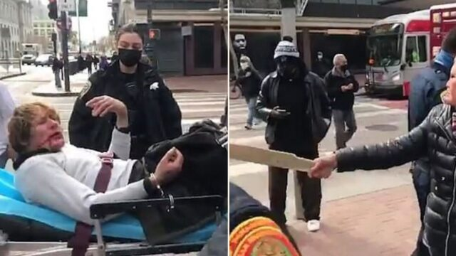 76-year-old Cantonese woman destroys thug who assaulted her on the street