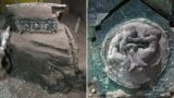 Archaeologists find preserved Roman Chariot from eruption that destroyed Pompeii