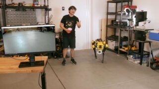 YouTuber teaches Boston Dynamics robot dog to p*ss beer into cup