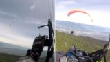 First-person footage of two paragliders crashing into each other will give ya breathing issues