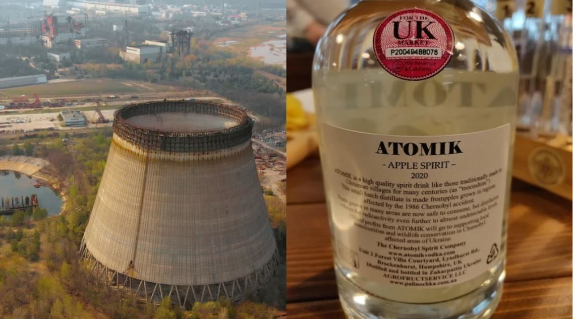 First shipment of alcoholic spirit from Chernobyl seized by authorities