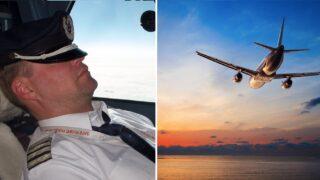 Aussie pilot falls asleep and misses destination!