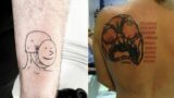 These tattoos aged well. Really well.