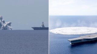 US Navy tests new warships with bomb-blast equivalent to 3.9 magnitude earthquake