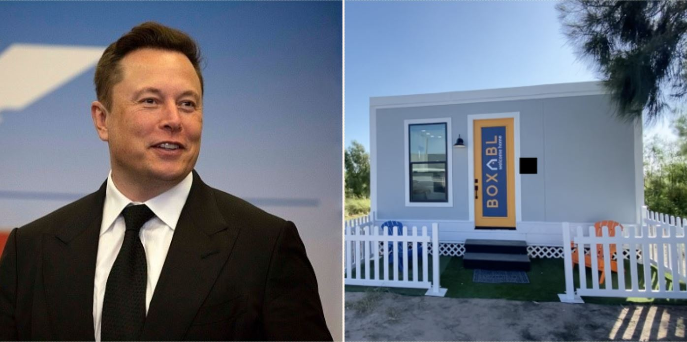 Elon Musk's new and only house is worth $50,000