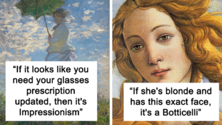 """Ozzy sheila goes viral for bloody gold tips on how to become an """"art expert"""""""