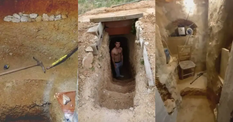 Teen spent six years digging underground home in backyard after fight with parents