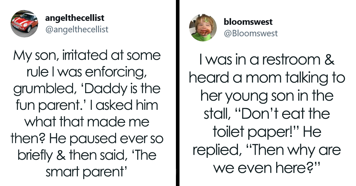 These one-liners from kids are some of the greatest on the Internet