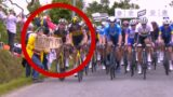 Cycling fan has caused massive f**ken pile-up at the Tour-de-France