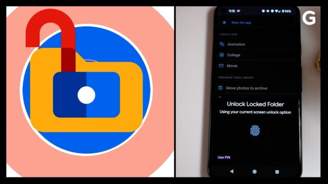 """Google releases new phone feature to """"lock"""" images"""