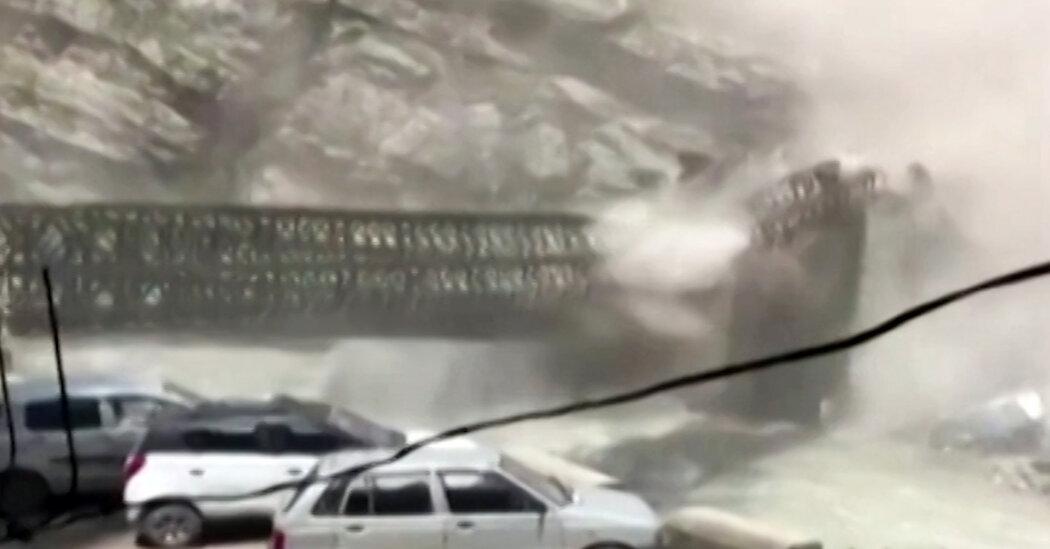 Landslide wreaks havoc in the Himalayas