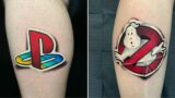 This artist creates tattoos that look like stickers you can peel off