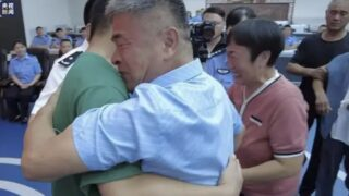 Father reunites with abducted son after spending 24 years searching for him
