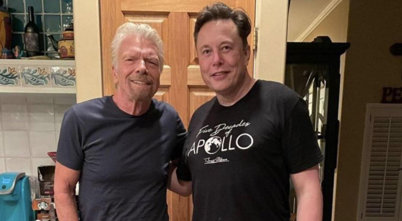 "Elon Musk responds to space fans mocking Richard Branson's ""ugly"" kitchen"