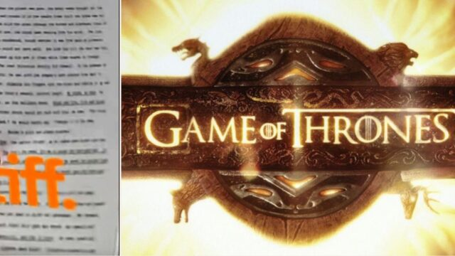 GoT fans desperately try to decipher blurry page from 'The Winds of Winter'