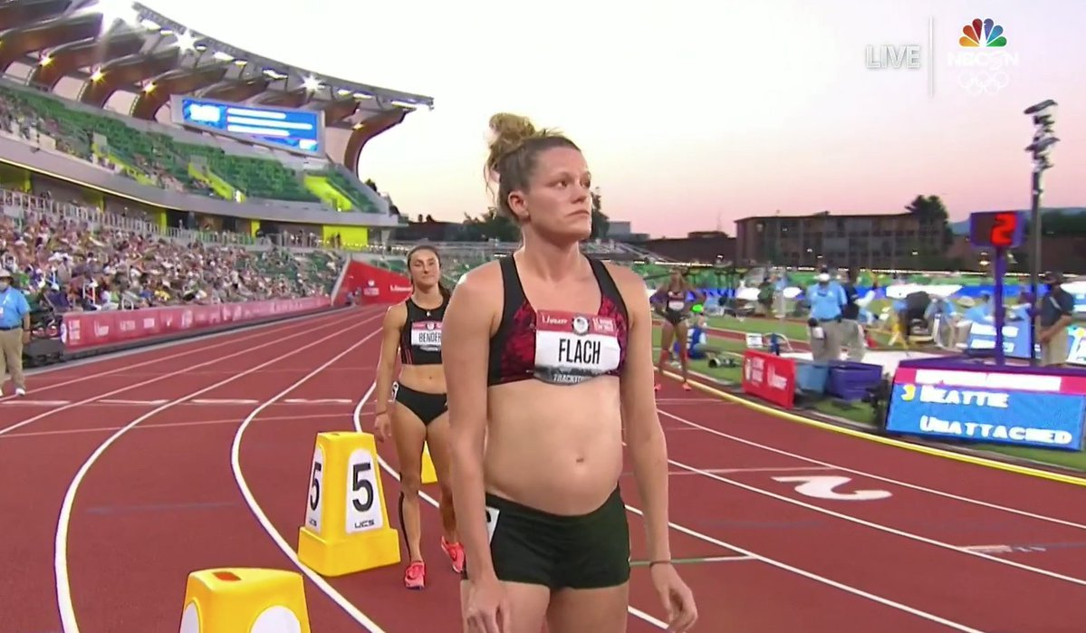 Sheila competes at Olympic trials while 18 weeks pregnant