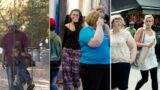 Woman photographs strangers to reveal how some look at overweight people
