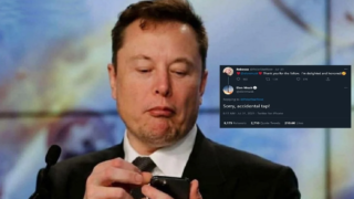 Elon Musk follows woman on Twitter, she thanks him, then he unfollows