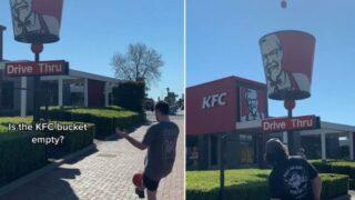 KFC drive-through bucket myth busted