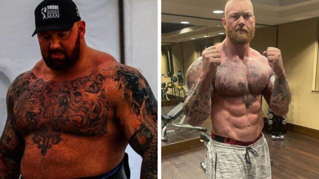 'The Mountain' Hafthor Bjornsson reveals crazy body transformation