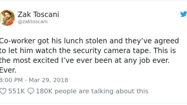 Bloke's office lunch gets stolen at work, left stunned after viewing the security cameras