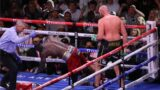 The stool Tyson Fury's used between rounds has been revealed and it's gold